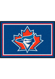 Toronto Blue Jays 4x6 Plush Interior Rug