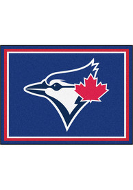 Toronto Blue Jays 8x10 Plush Interior Rug