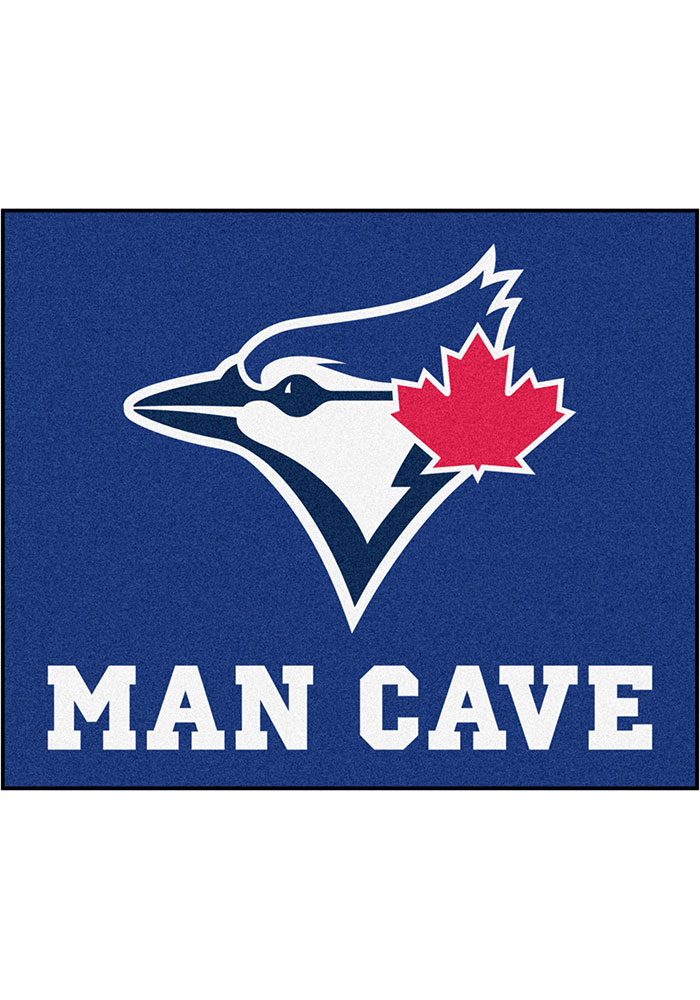 Toronto Blue Jays 60x71 Man Cave Tailgater Mat Other Tailgate - Image 1