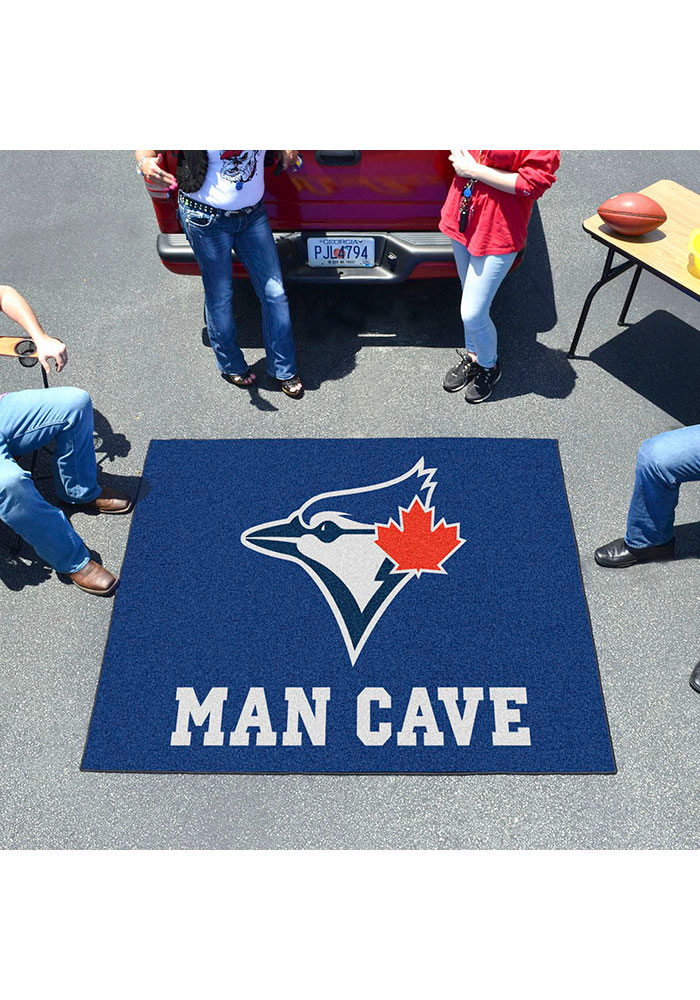 Toronto Blue Jays 60x71 Man Cave Tailgater Mat Other Tailgate - Image 2