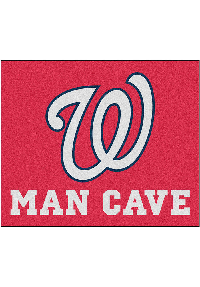 Washington Nationals 60x71 Man Cave Tailgater Mat Other Tailgate - Image 1
