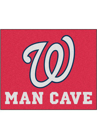 Washington Nationals 60x71 Man Cave Tailgater Mat Other Tailgate