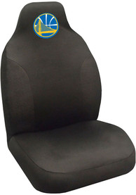 Sports Licensing Solutions Golden State Warriors Team Logo Car Seat Cover - Black