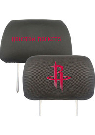 Sports Licensing Solutions Houston Rockets 10x13 Auto Head Rest Cover - Black