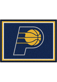 Indiana Pacers 8x10 Plush Interior Rug