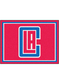 Los Angeles Clippers 8x10 Plush Interior Rug