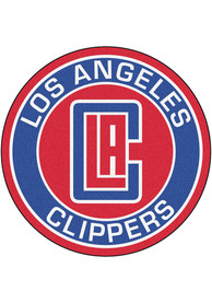 Los Angeles Clippers 27 Roundel Interior Rug