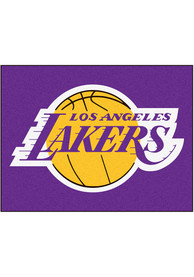 Los Angeles Lakers 34x42 Starter Interior Rug