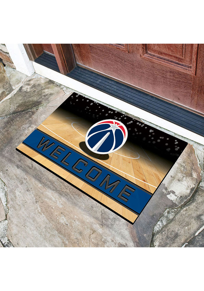 Washington Wizards 18x30 Crumb Rubber Door Mat - Image 2