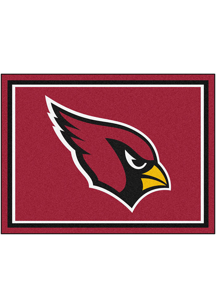 Arizona Cardinals 8x10 Plush Interior Rug - Image 1