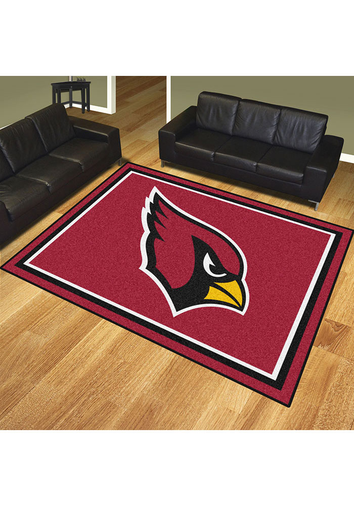 Arizona Cardinals 8x10 Plush Interior Rug - Image 2