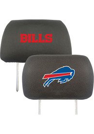 Sports Licensing Solutions Buffalo Bills 10x13 Auto Head Rest Cover - Black