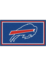 Buffalo Bills 3x5 Plush Interior Rug