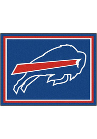 Buffalo Bills 8x10 Plush Interior Rug