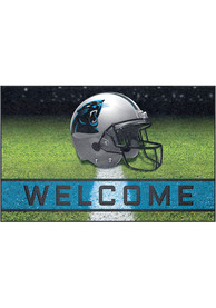 Carolina Panthers 18x30 Crumb Rubber Door Mat