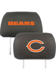 Sports Licensing Solutions Chicago Bears 10x13 Auto Head Rest Cover - Black