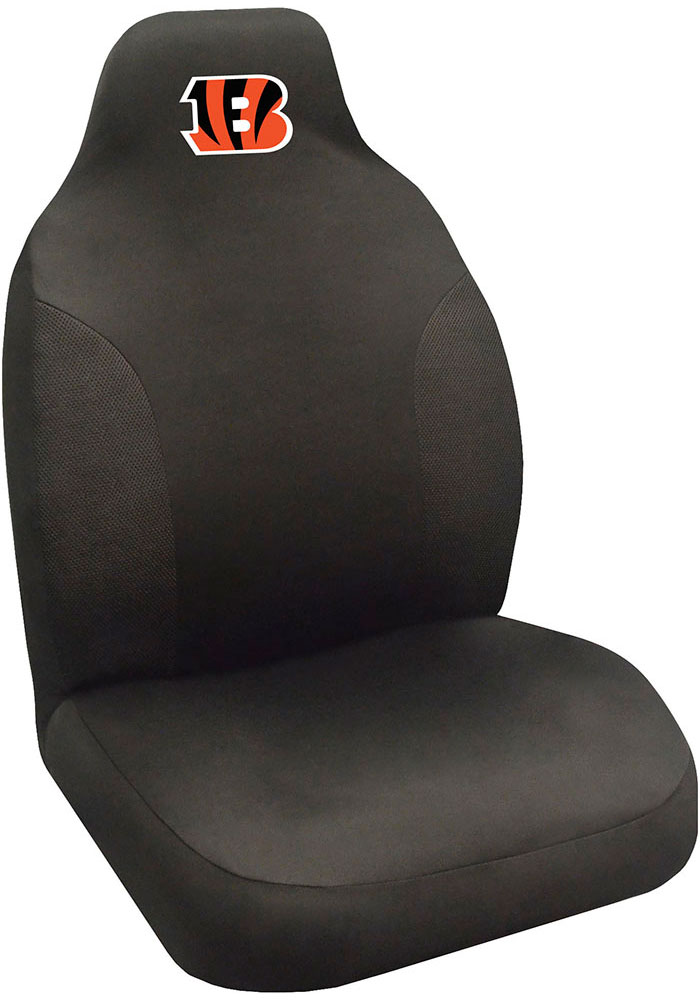 Sports Licensing Solutions Cincinnati Bengals Team Logo Car Seat Cover - Black - Image 1