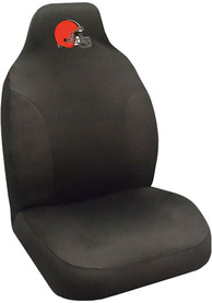 Sports Licensing Solutions Cleveland Browns Team Logo Car Seat Cover - Black