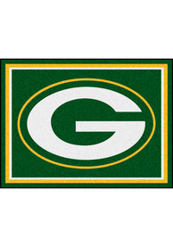 Green Bay Packers 8x10 Plush Interior Rug