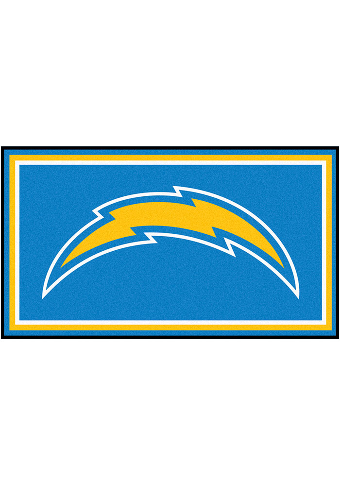 Los Angeles Chargers 3x5 Plush Interior Rug - Image 1