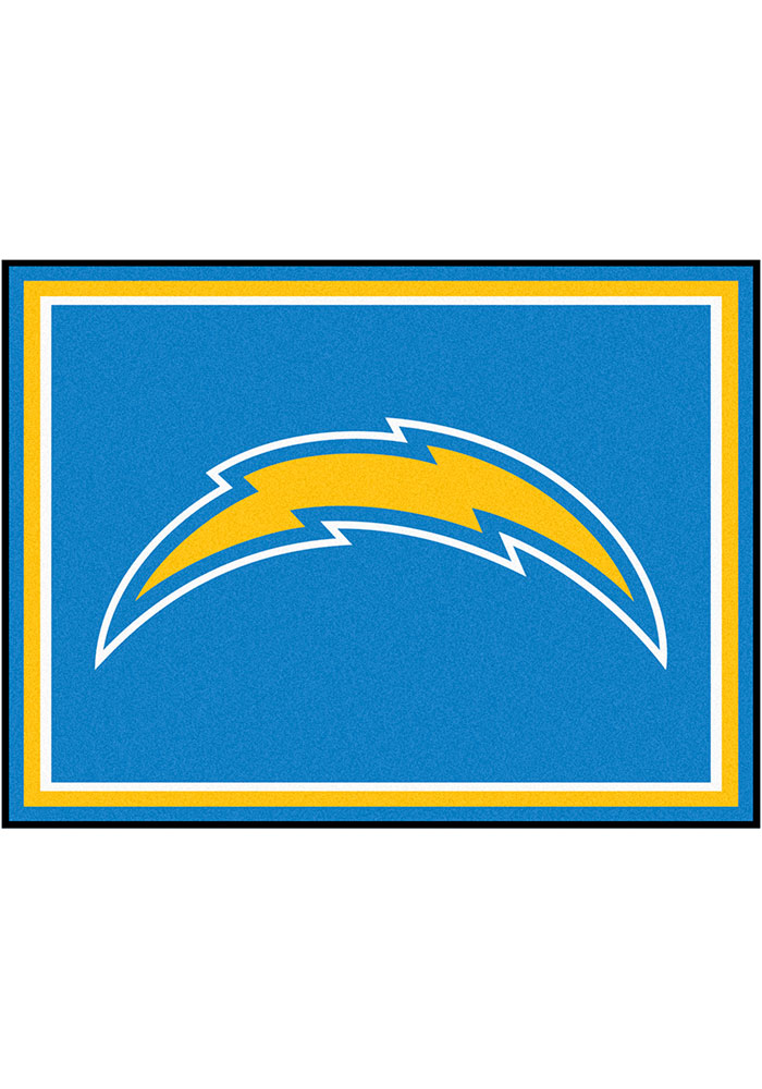 Los Angeles Chargers 8x10 Plush Interior Rug - Image 1