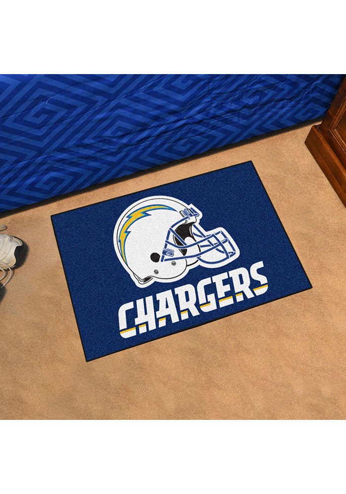 Los Angeles Chargers 19x30 Starter Interior Rug - Image 2