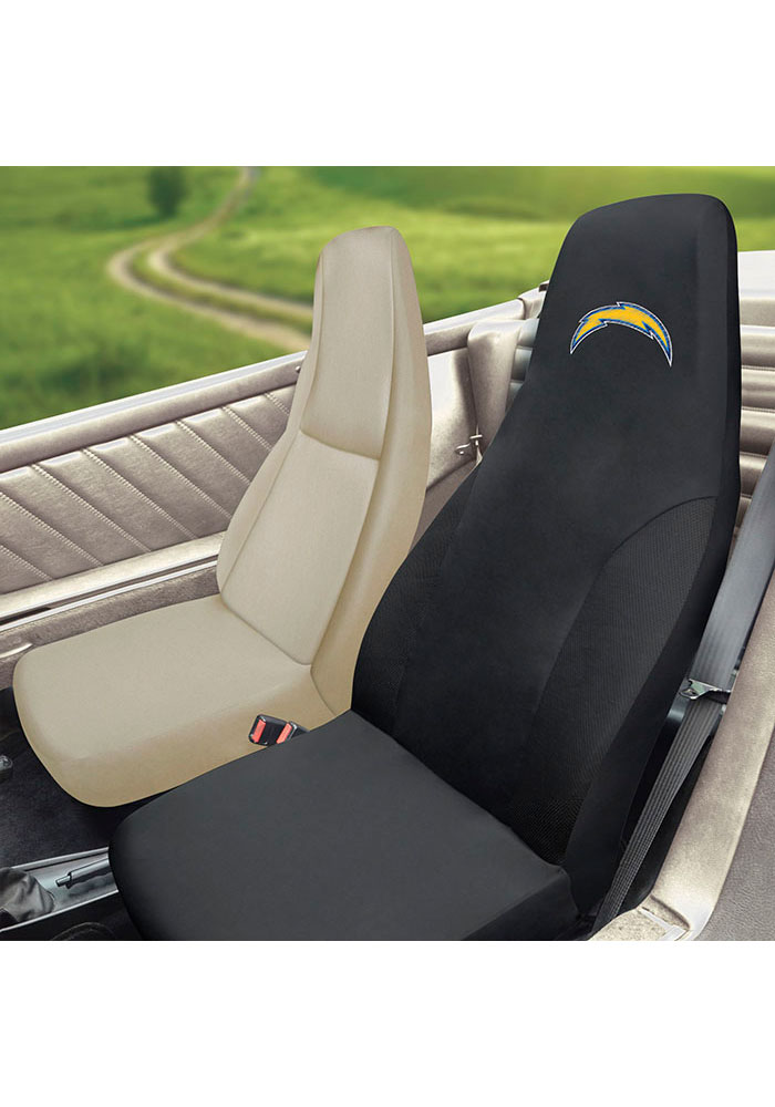 Sports Licensing Solutions Los Angeles Chargers Team Logo Car Seat Cover - Black - Image 2
