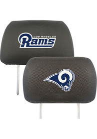 Sports Licensing Solutions Los Angeles Rams 10x13 Auto Head Rest Cover - Black