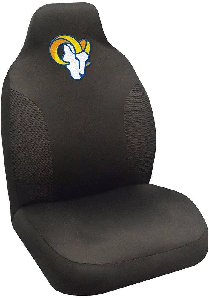 Sports Licensing Solutions Los Angeles Rams Team Logo Car Seat Cover - Black - Image 1