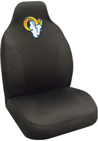 Sports Licensing Solutions Los Angeles Rams Team Logo Car Seat Cover - Black