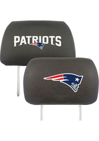 Sports Licensing Solutions New England Patriots 10x13 Auto Head Rest Cover - Black