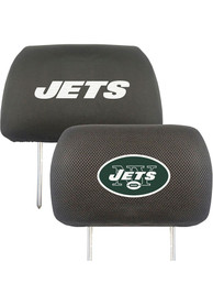 Sports Licensing Solutions New York Jets 10x13 Auto Head Rest Cover - Black
