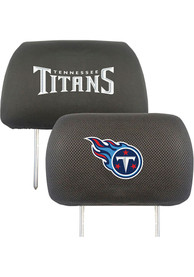 Sports Licensing Solutions Tennessee Titans 10x13 Auto Head Rest Cover - Black