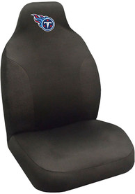 Sports Licensing Solutions Tennessee Titans Team Logo Car Seat Cover - Black