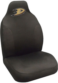 Sports Licensing Solutions Anaheim Ducks Team Logo Car Seat Cover - Black