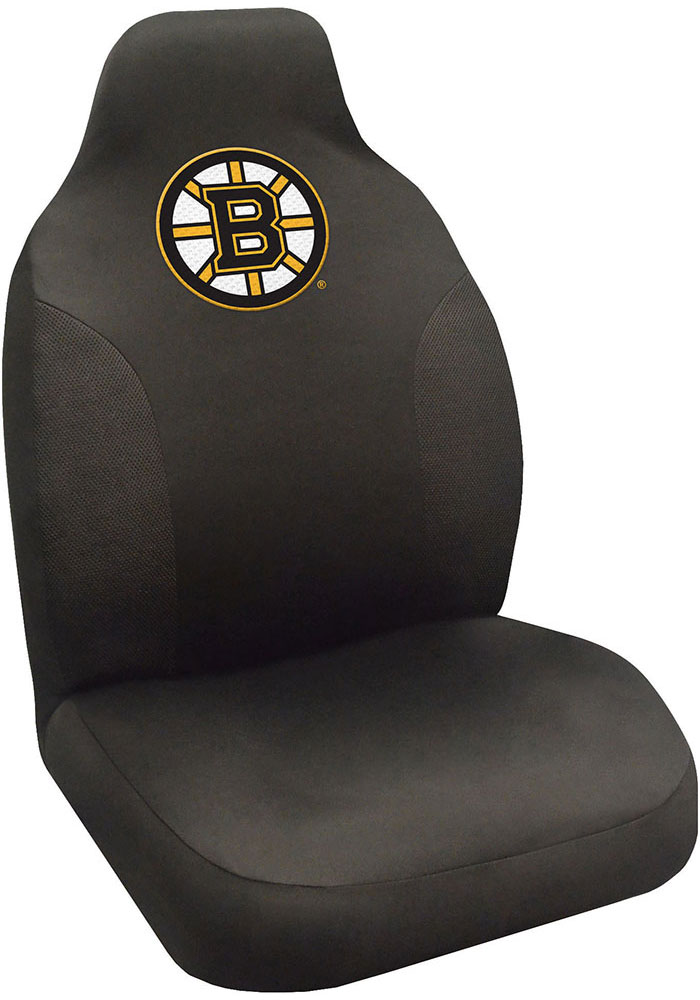 Sports Licensing Solutions Boston Bruins Team Logo Car Seat Cover - Black - Image 1