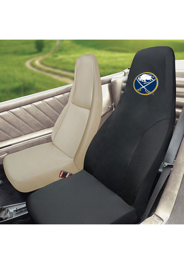 Sports Licensing Solutions Buffalo Sabres Team Logo Car Seat Cover - Black - Image 2