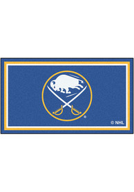 Buffalo Sabres 3x5 Plush Interior Rug