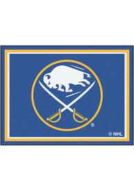 Buffalo Sabres 8x10 Plush Interior Rug