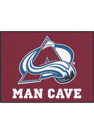 Colorado Avalanche 34x42 Man Cave All Star Interior Rug