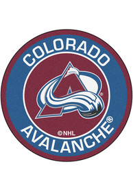 Colorado Avalanche 27 Roundel Interior Rug