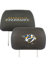 Sports Licensing Solutions Nashville Predators 10x13 Auto Head Rest Cover - Black