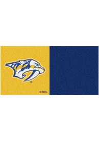 Nashville Predators 18x18 Team Tiles Interior Rug