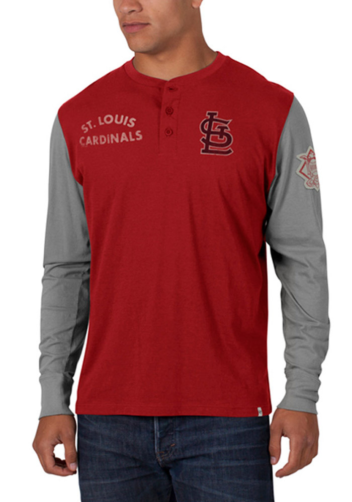 47 St Louis Cardinals Red Homefield Long Sleeve Fashion T Shirt - Image 1