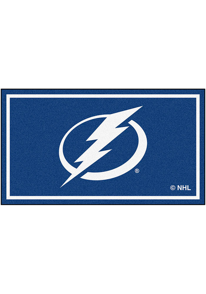 Tampa Bay Lightning 3x5 Plush Interior Rug - Image 1