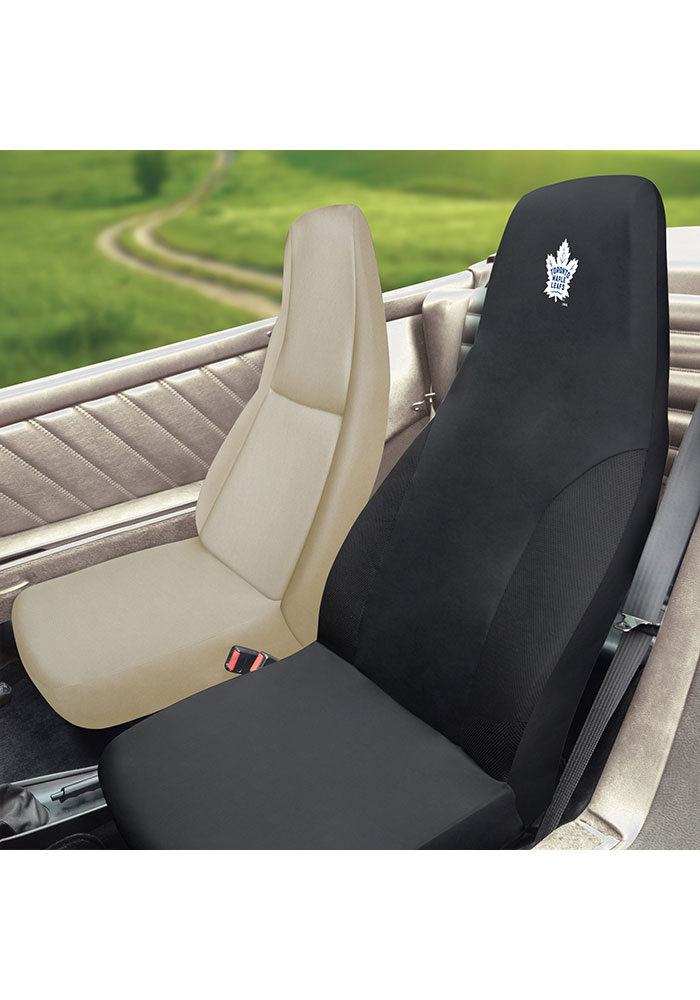 Sports Licensing Solutions Toronto Maple Leafs Team Logo Car Seat Cover - Black - Image 2
