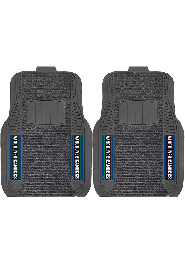 Sports Licensing Solutions Vancouver Canucks 20x27 Deluxe Car Mat - Black - Image 1
