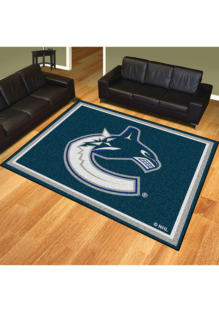 Vancouver Canucks 8x10 Plush Interior Rug - Image 2