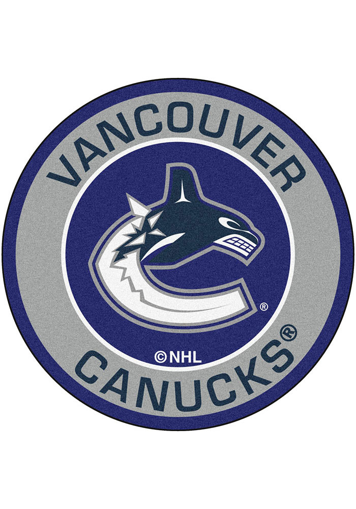 Vancouver Canucks 27 Roundel Interior Rug - Image 1