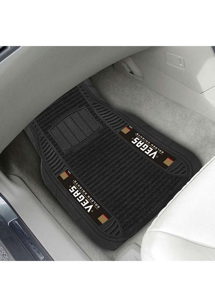 Sports Licensing Solutions Vegas Golden Knights 20x27 Deluxe Car Mat - Black - Image 2